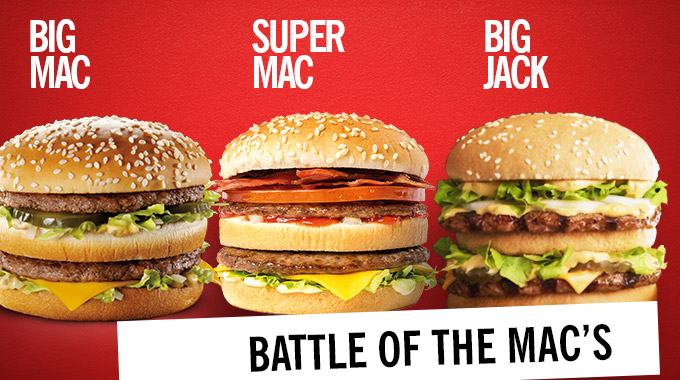Burger Chains Troll McDonald's for Losing Big Mac Trademark